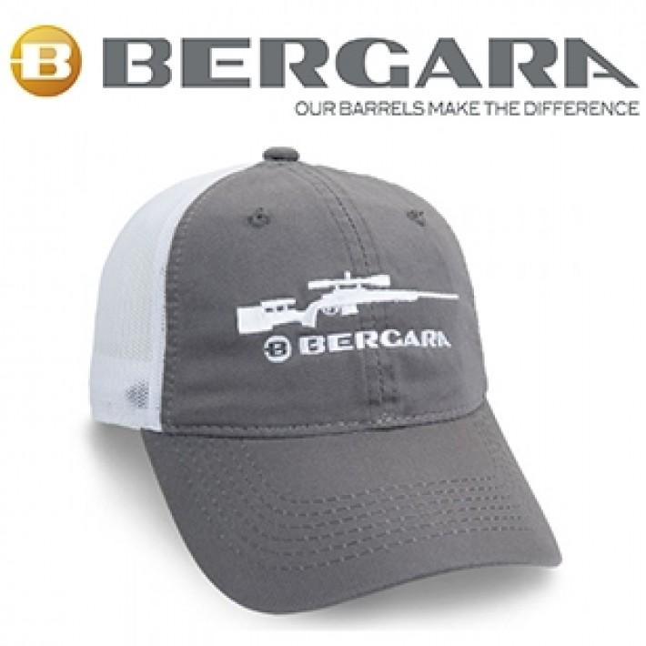 Gorra Bergara gris con rifle