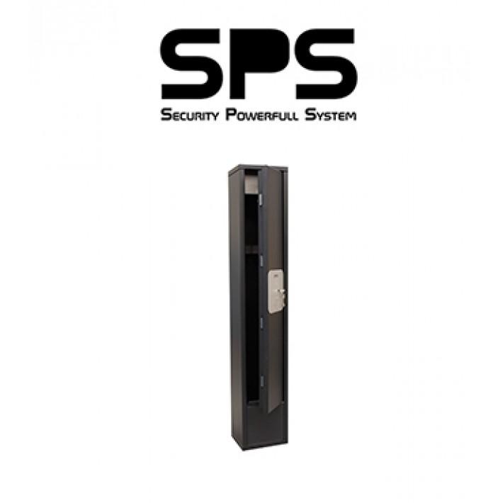 Armero SPS T de Grado I para 4 armas con cajón interior y luz LED