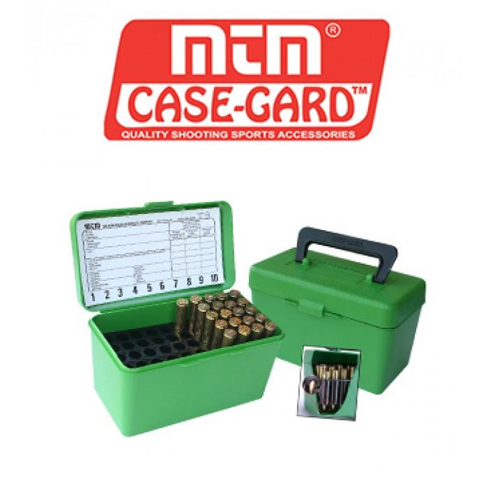 Caja para munición MTM H50 Deluxe para 50 cartuchos