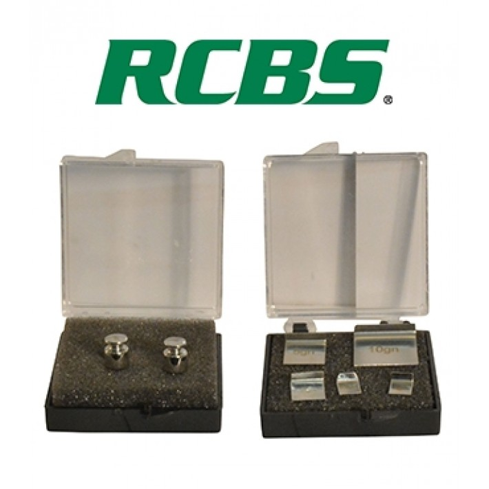 Kit de pesas RCBS para balanza Standard Scale Check Weight Set