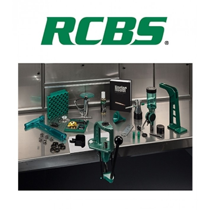 Kit de prensa RCBS Explorer Plus Reloading Kit