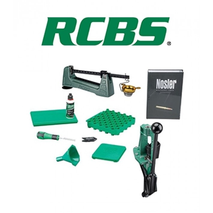 Kit de prensa RCBS Partner Reloading Kit