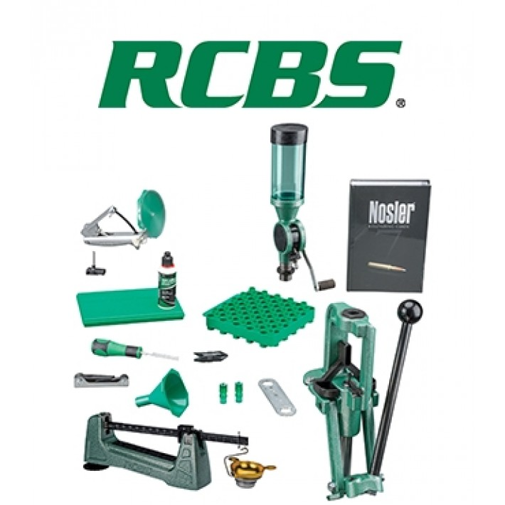 Kit de prensa RCBS Rock Chucker Supreme Master Reloading Kit