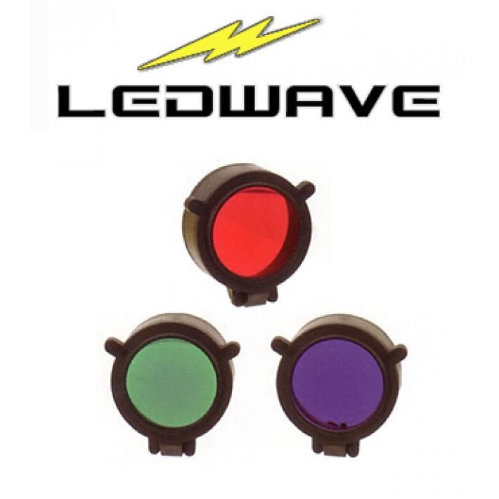 Kit filtros azul, rojo y verde Ledwave de 43mm