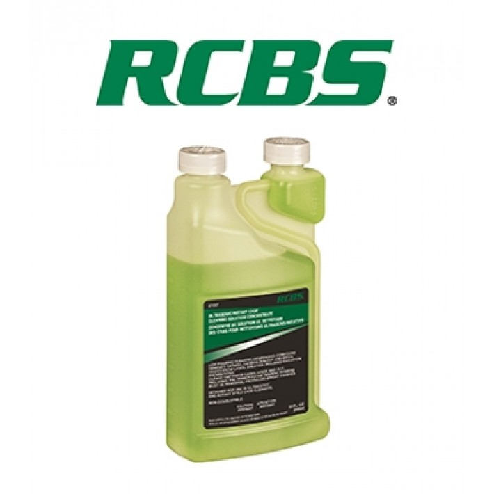 Limpiador RCBS Case Cleaning Solution Concentrate - 946 ml