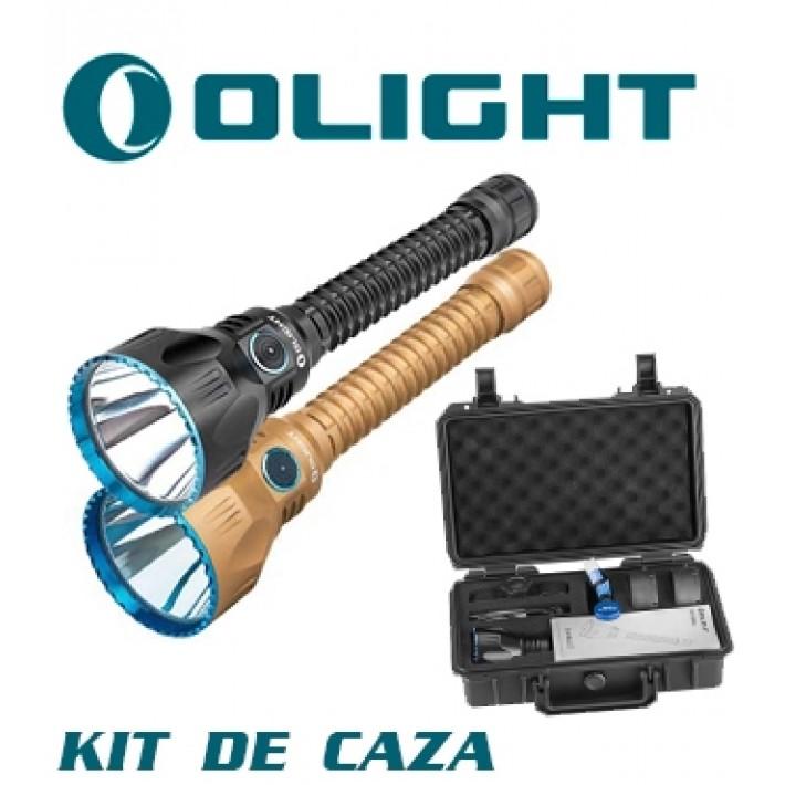 Linterna Olight Javelot Pro con kit de caza recargable