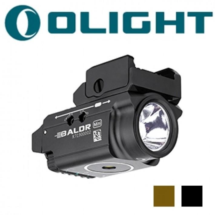 Módulo de luz Olight Baldr Mini con láser verde