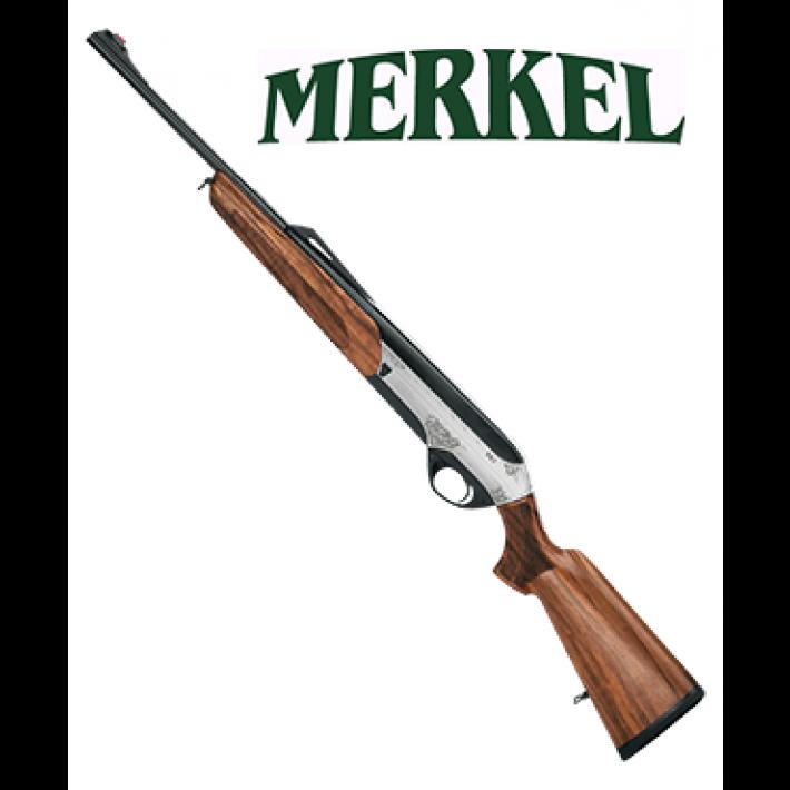 Rifle Semiautomático Merkel SR1 Jagd calibre 7mm Remington Magnum