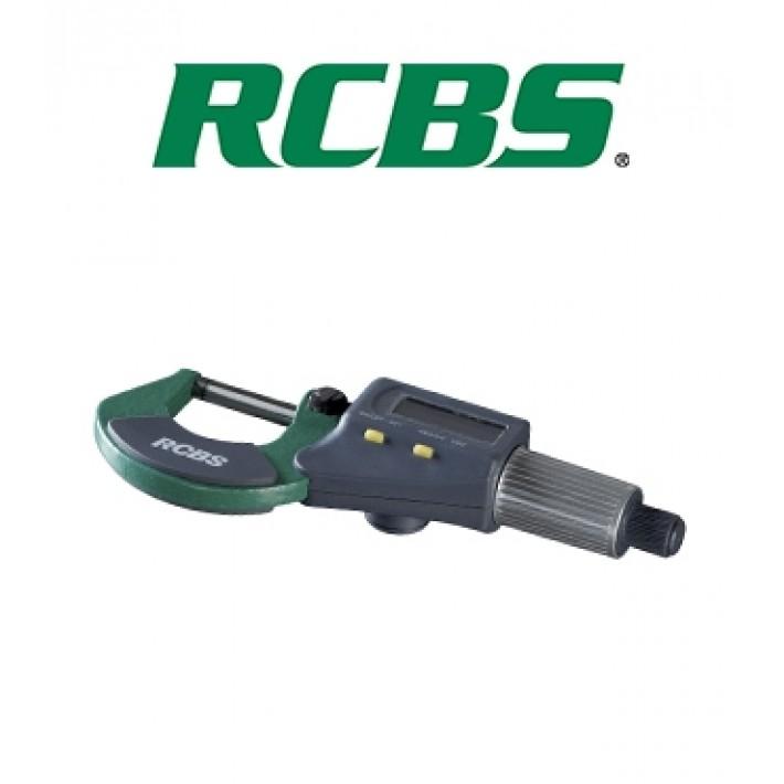 """Micrómetro digital RCBS con precisión de .001"""""""