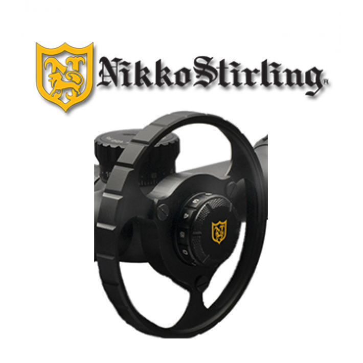 Rueda paralaje Nikko Stirling para visores Diamond Long Range 4-16 y 6-24