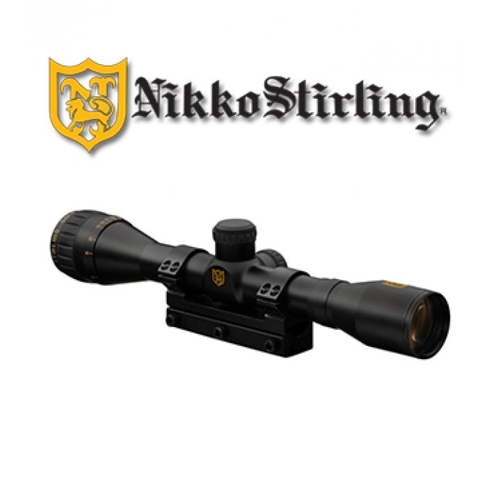 """Visor Nikko Stirling Airking 4x32 de 1"""" con retícula HMD"""