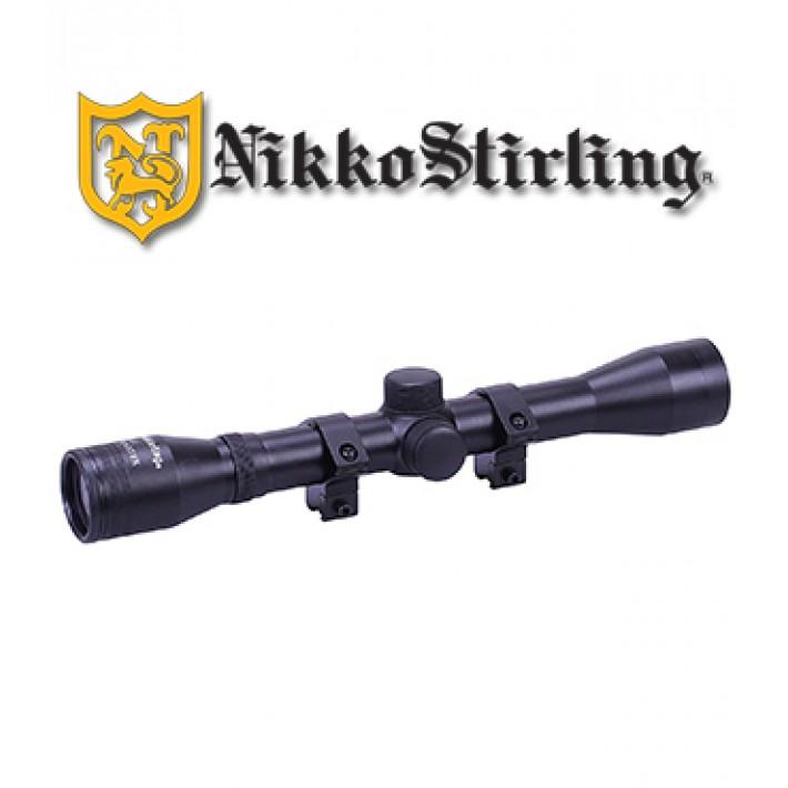 """Visor Nikko Stirling Mount Master 4x32 de 1"""" con retícula HMD"""