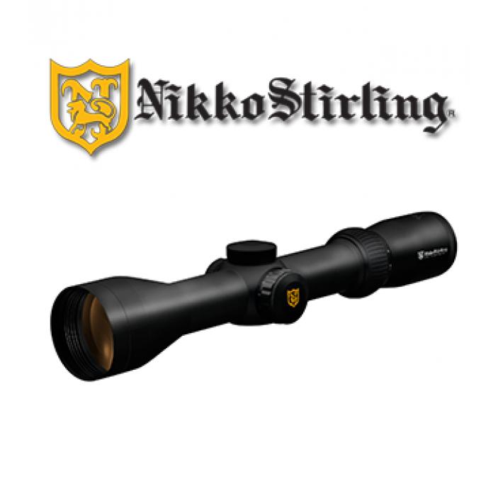 Visor Nikko Stirling Diamond 1,5-6x44 de 30mm con retícula iluminada 4A