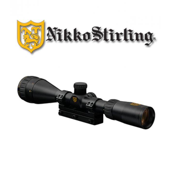 "Visor Nikko Stirling Airking 4x32 de 1"" con retícula iluminada HMD"