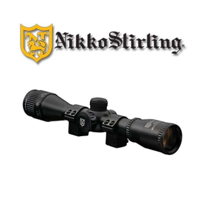 "Visor Nikko Stirling Mount Master 4x32 de 1"" con retícula iluminada HMD"