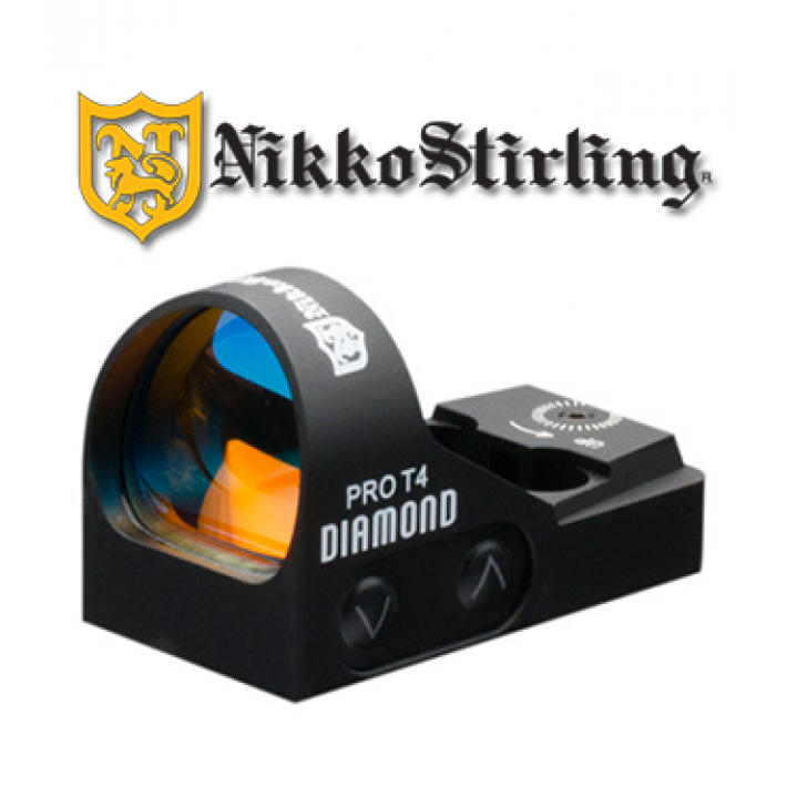 Visor reflex Nikko Stirling XT4 con retícula 4 MOA Red Dot