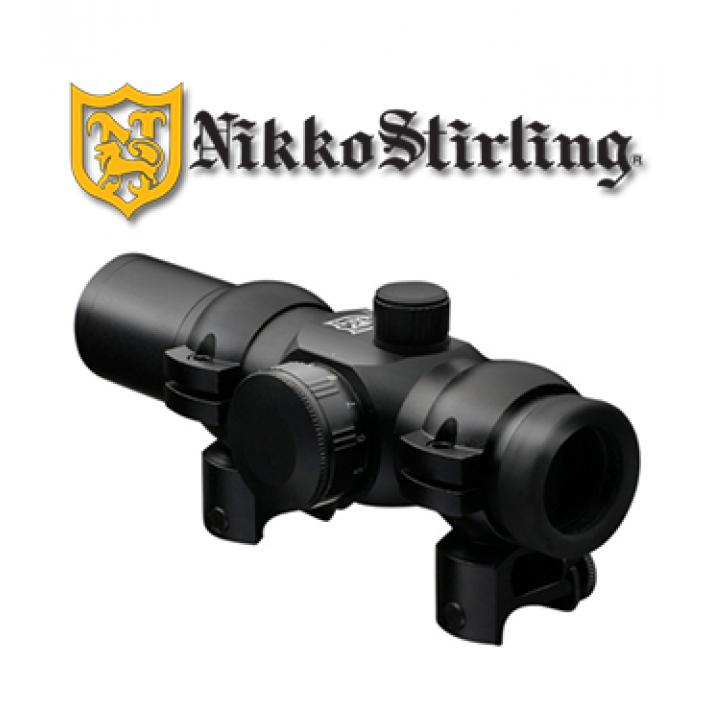 Visor punto rojo Nikko Stirling NRD con retícula 4 MOA Red Dot