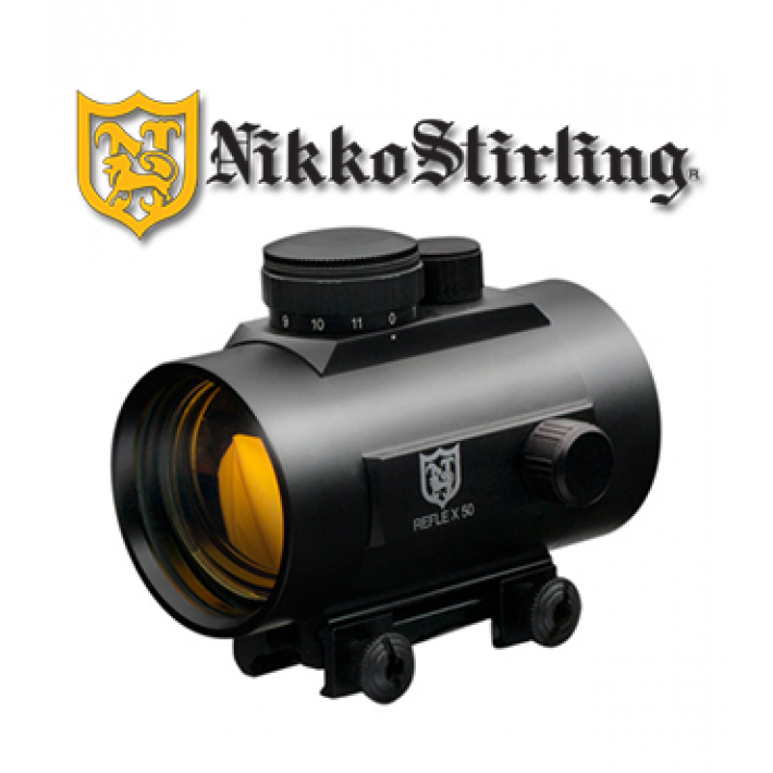 Visor punto rojo Nikko Stirling NRD con retícula 5 MOA Red Dot