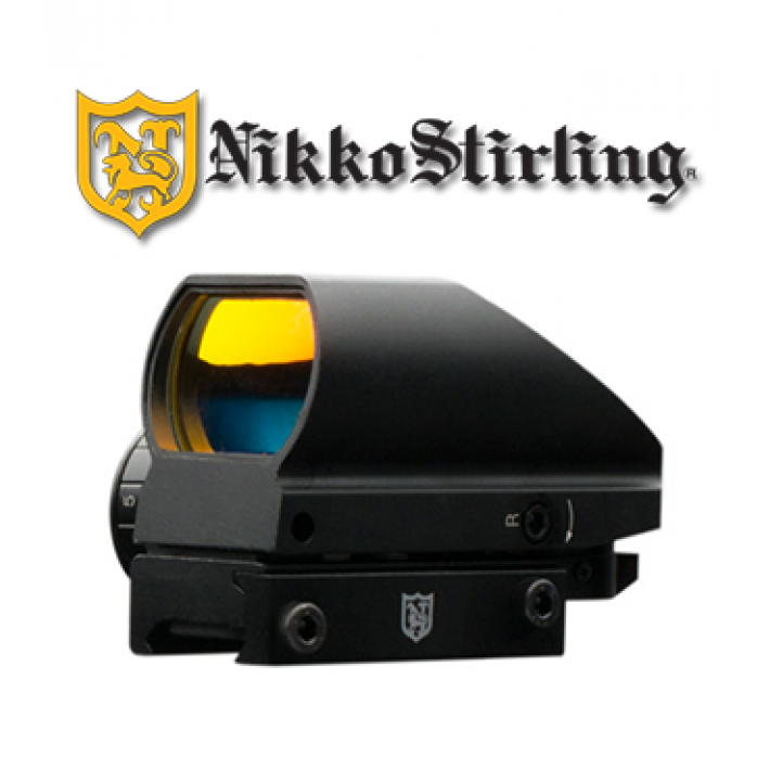 Visor punto rojo Nikko Stirling NS con retícula múltiple