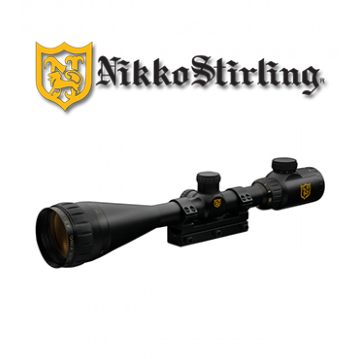 "Visor Nikko Stirling Airking 6-18x44 de 1"" con retícula iluminada HMD IR"