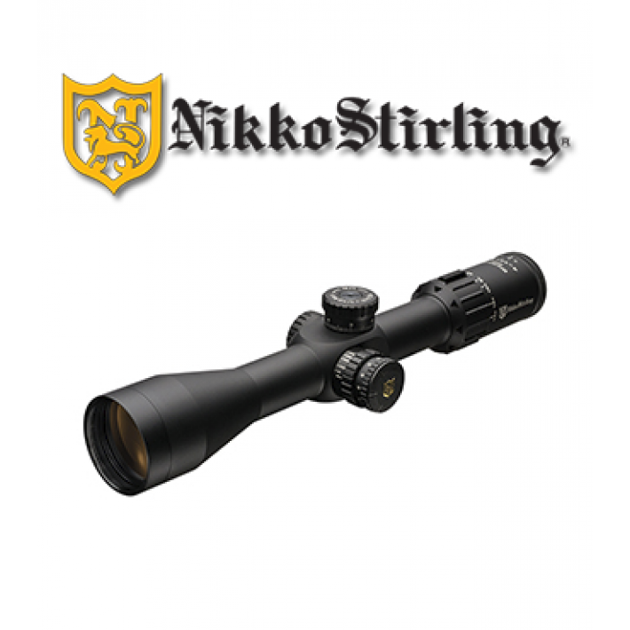 Visor Nikko Stirling Diamond Primer Plano Focal 4-14x44 de 30mm con retícula HMD