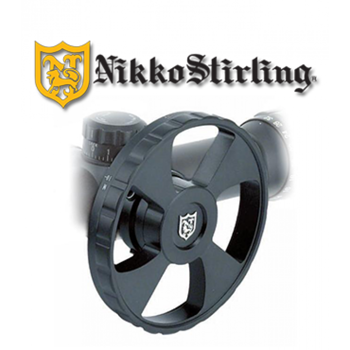 Rueda paralaje Nikko Stirling para visor Diamond Sportsman 100mm