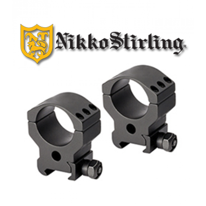 Anillas Leupold QRW de 30mm brillo - Altas