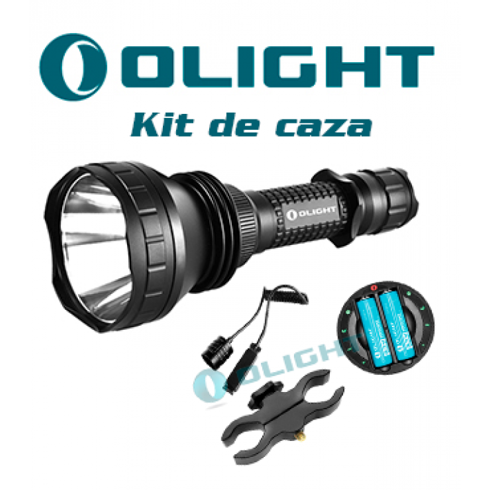Linterna Olight M2X Javelot UT con kit caza recargable