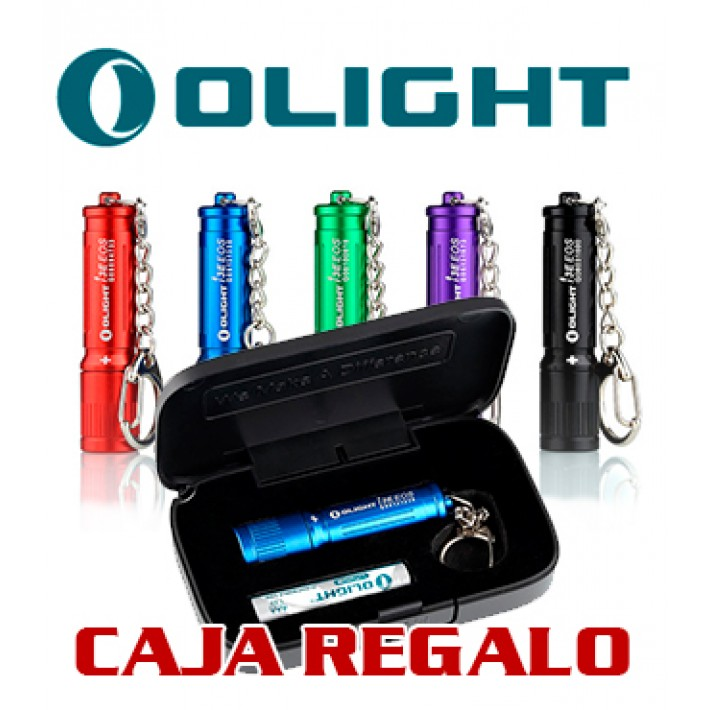 Linterna Olight i3E EOS caja regalo