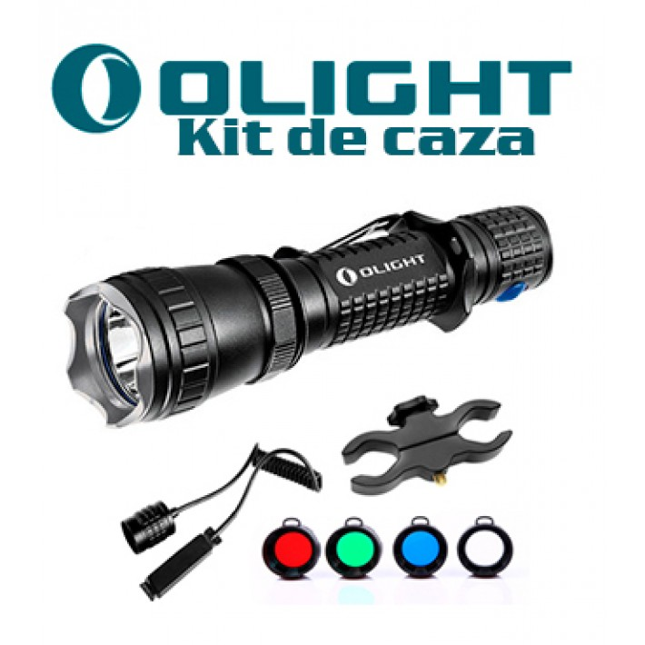 Linterna Olight M20SX Javelot con kit caza recargable