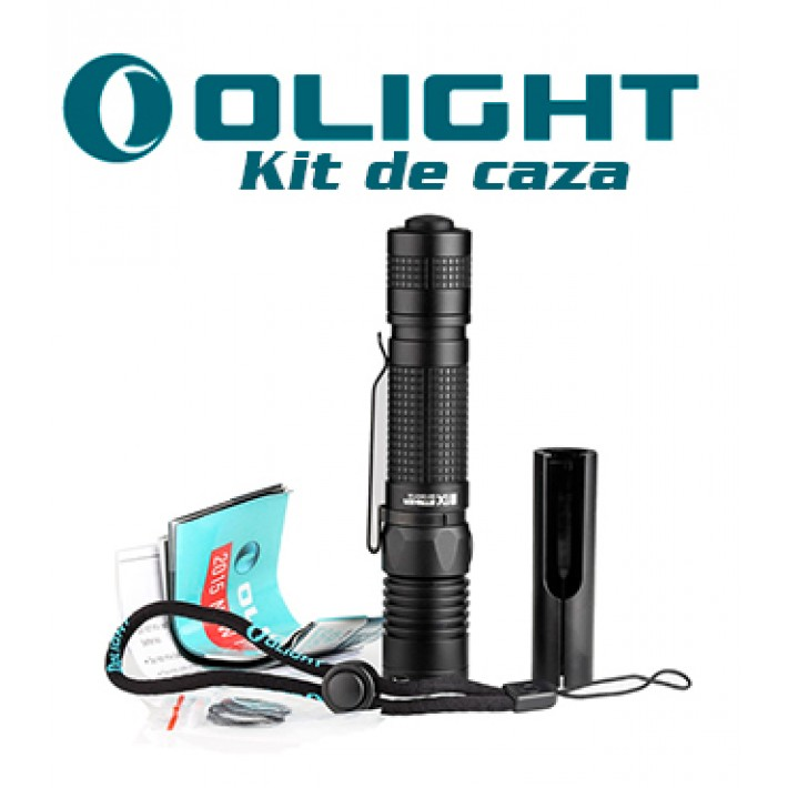 Linterna Olight M1X Striker con kit de caza no recargable