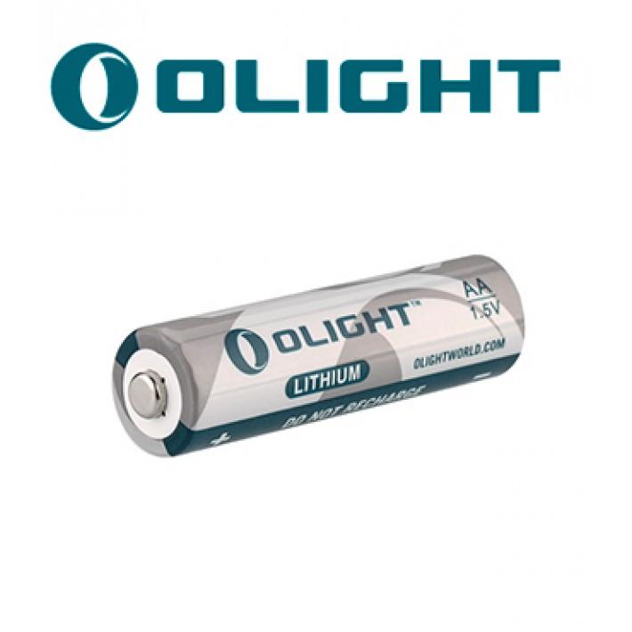 Batería de litio Olight AA de 1.5V y 2900mAh