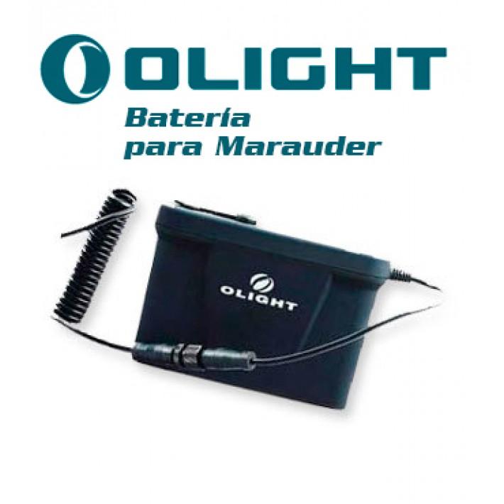 Batería recargable de litio Olight X6 para Marauder