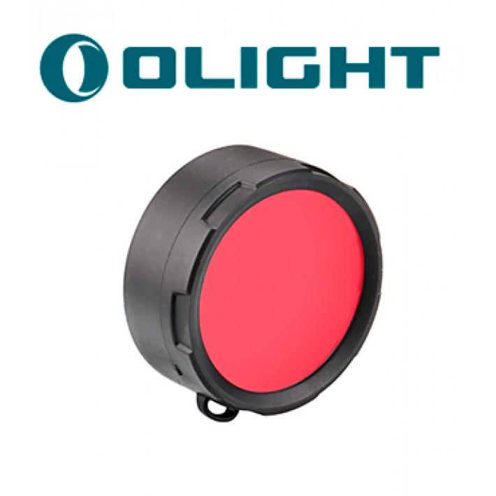 Filtro rojo Olight M3X, M2X, SR50-52