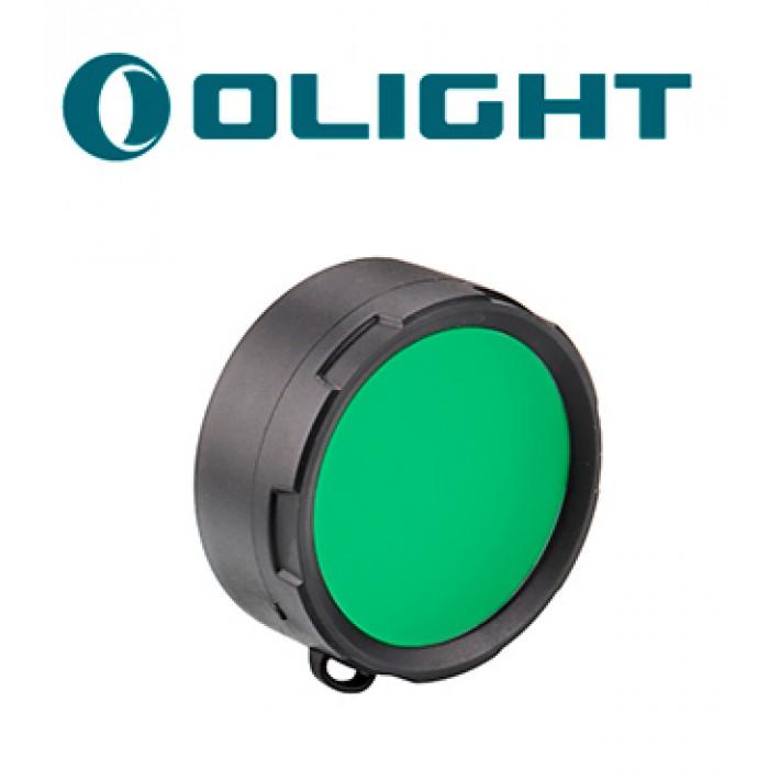 Filtro verde Olight M3X, M2X, SR50-52