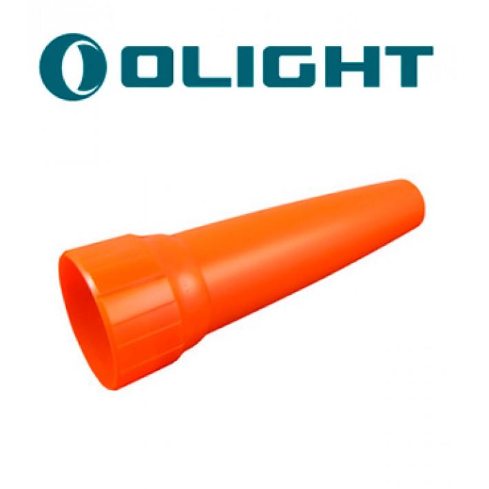 Cono de tráfico Olight naranja M1X