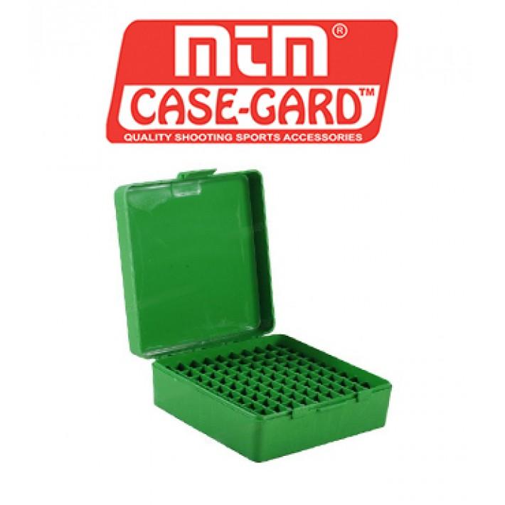 Caja para munición MTM P100 Flip Top para 100 cartuchos