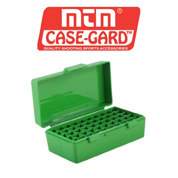 Caja para munición MTM P50 Flip Top para 50 cartuchos