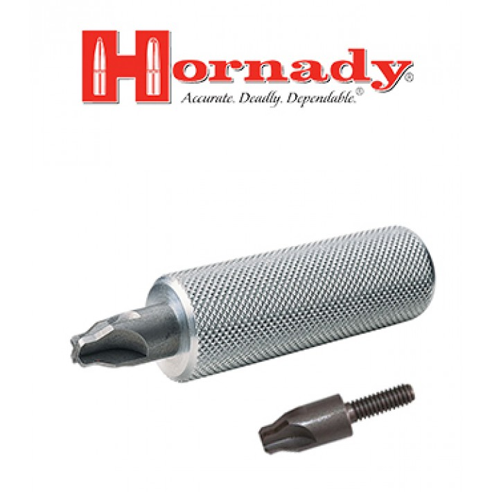 Pack escareador de orificio de pistón Small y Large Hornady Primer Pocket Reamer