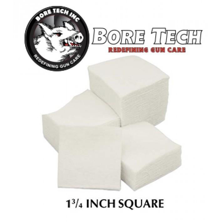 Parches de limpieza BoreTech cuadrados de 1 34''