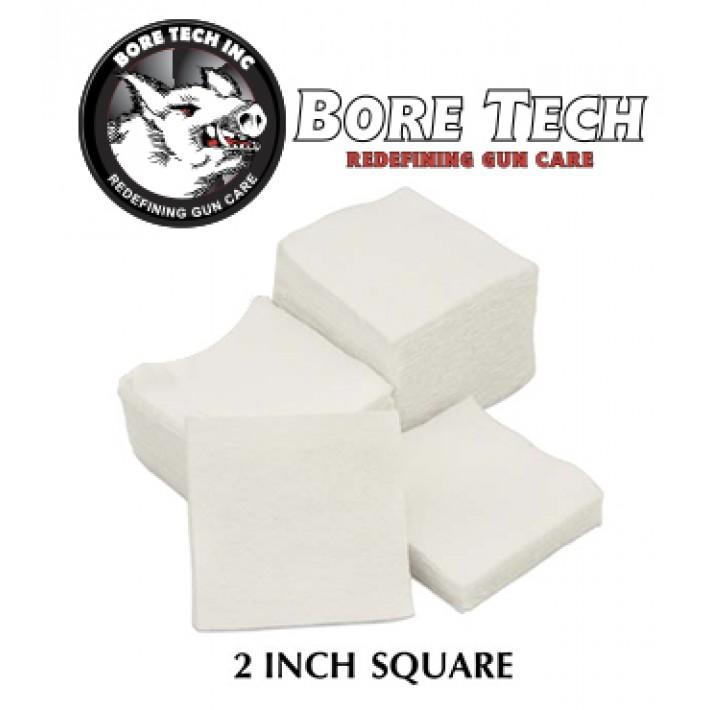 Parches de limpieza BoreTech cuadrados de 2''