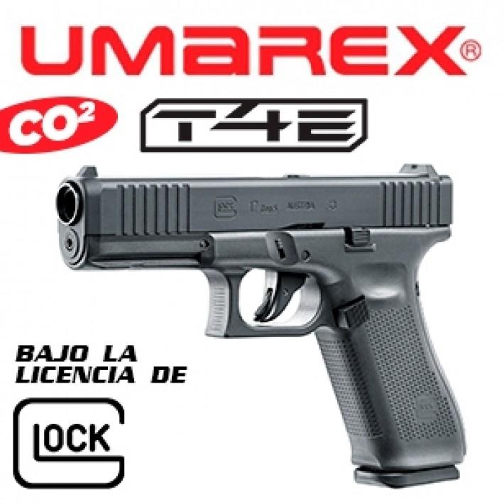 Pistola Glock 17 Gen5 T4E .43