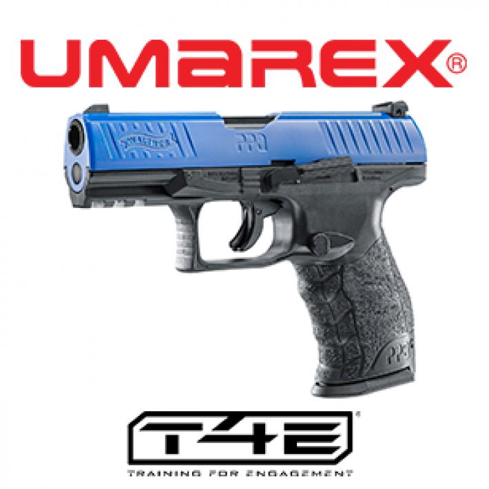 Pistola Walther PPQ M2 T4E .43 Azul