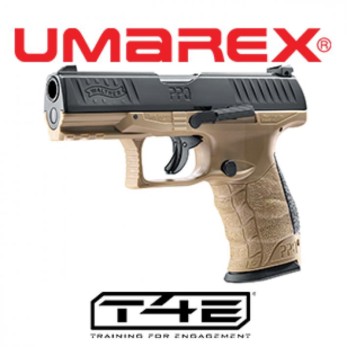 Pistola Walther PPQ M2 T4E .43 FDE