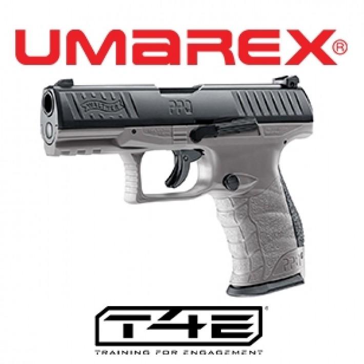 Pistola Walther PPQ M2 T4E .43 Gris