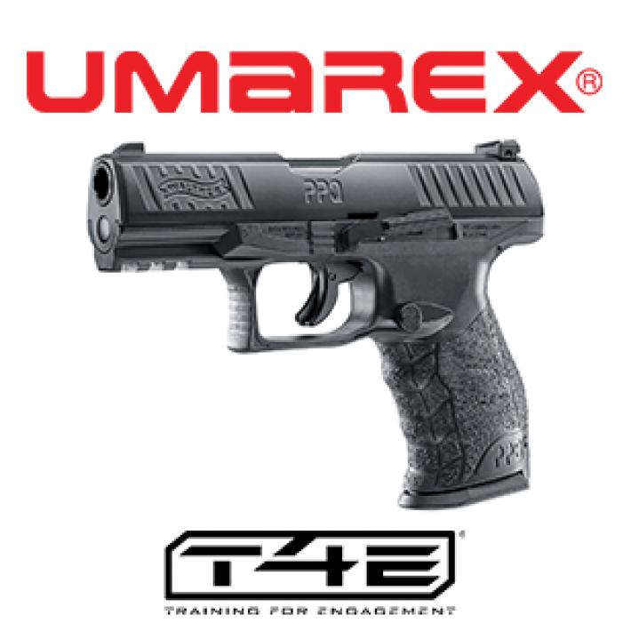 Pistola Walther PPQ M2 T4E .43 Negra