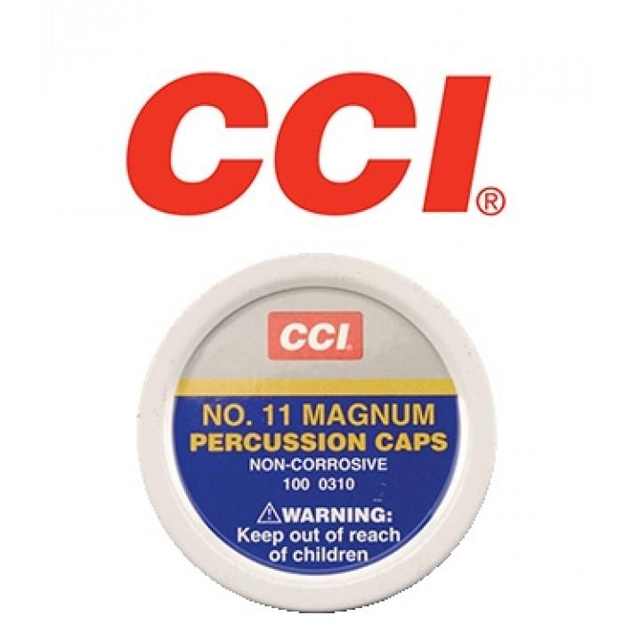 Pistones CCI #11 Magnum de avancarga