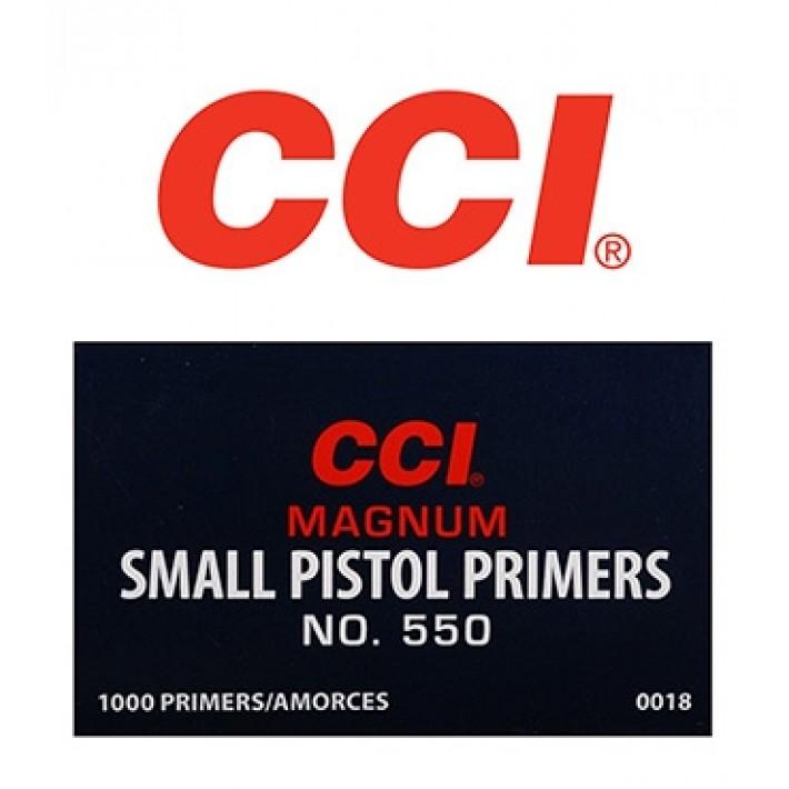 Pistones CCI 550 Small Pistol Magnum