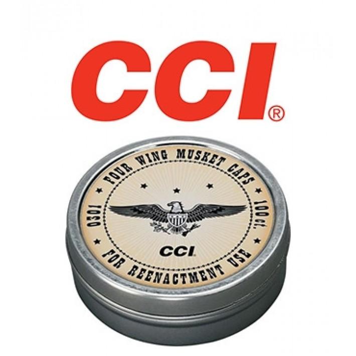 Pistones CCI de 4 aletas para mosquete de avancarga