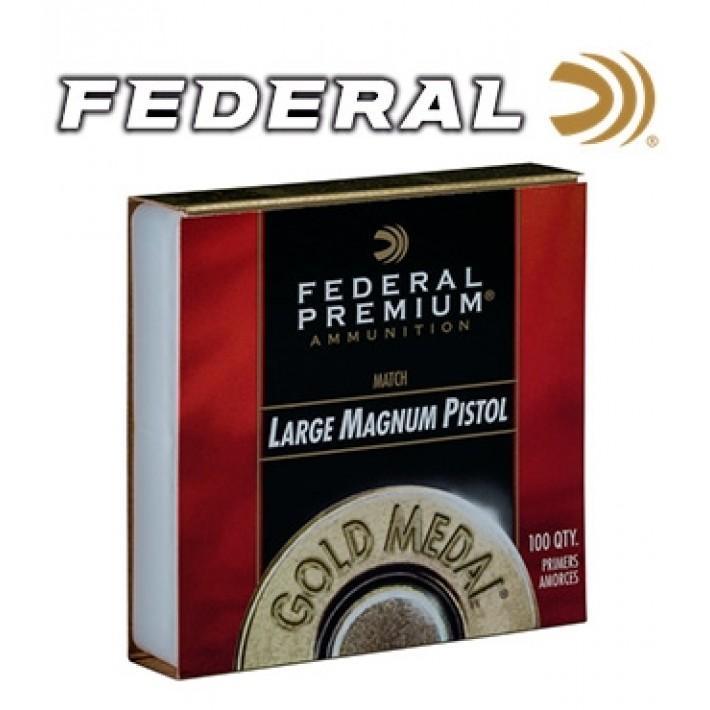 Pistones Federal Gold Medal Large Pistol Magnum